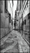23rd Feb 2019 - Another lovely alleyway in Malaga for the flash of red challenge