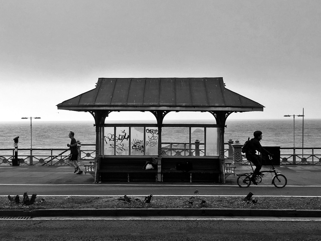 Seafront shelter II by 4rky