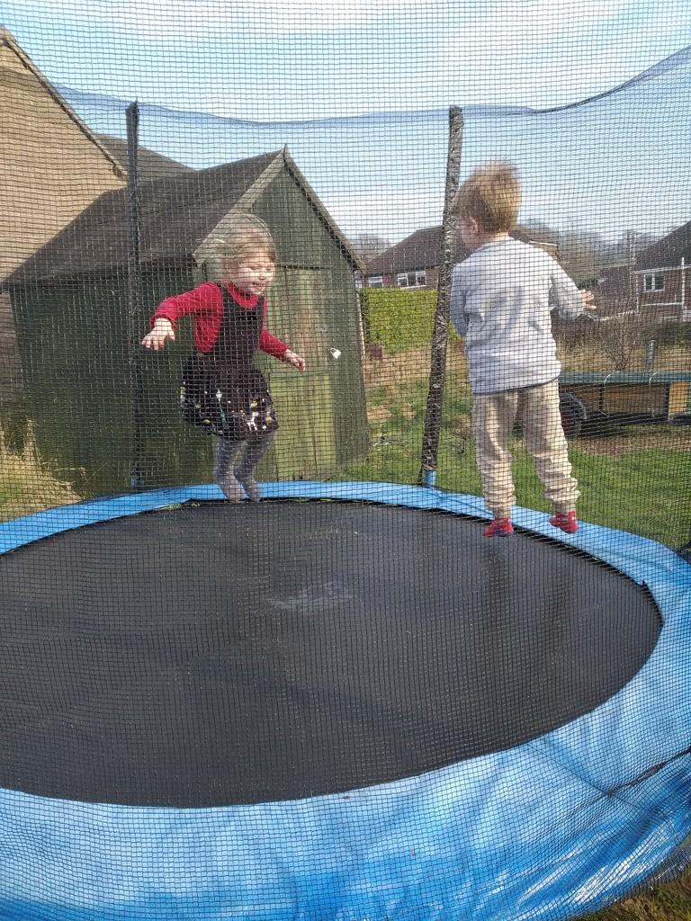 Jumping for joy by brennieb