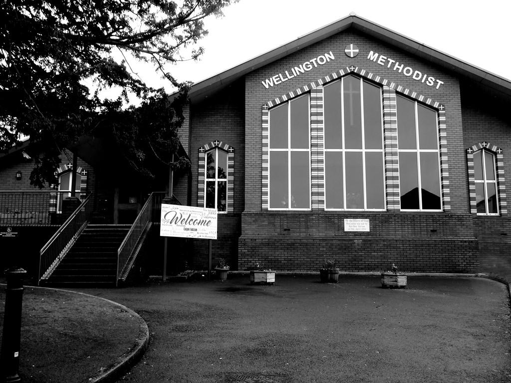 Wellington Methodist Church (Shropshire ) by beryl
