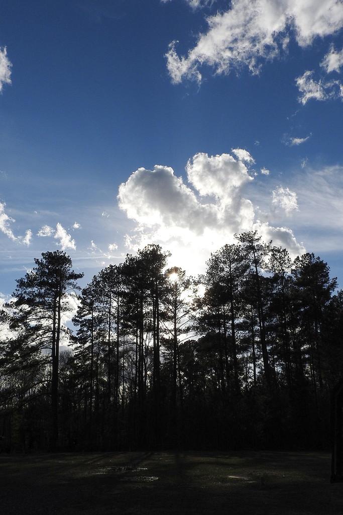 Blue skies FINALLY! by homeschoolmom