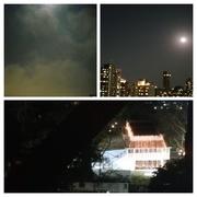 20th Feb 2019 - Full moon over Mumbai