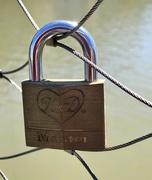 27th Feb 2019 - Love locked in