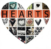 28th Feb 2019 - Heart's combined