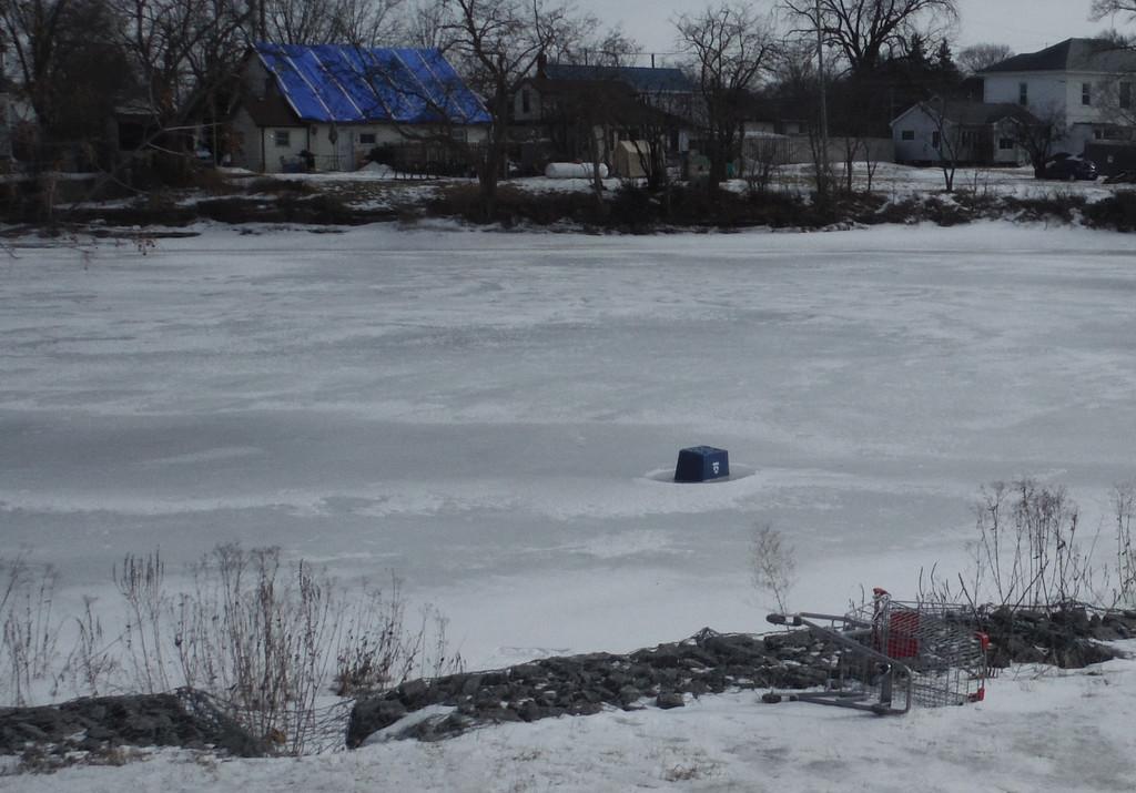 Frozen River by spanishliz