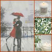 24th Feb 2019 - Snow In Love.