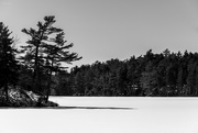 27th Feb 2019 - Snow covered lake