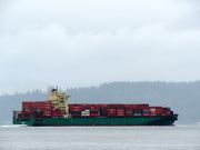 27th Feb 2019 - Container Ship On Puget Sound