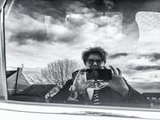 28th Feb 2019 - Car window selfie