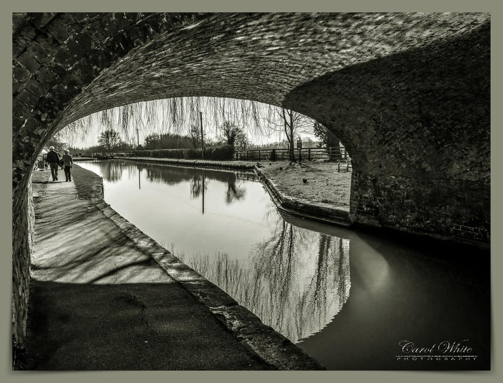 Canal Bridge,Stoke Bruerne by carolmw