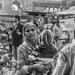 Delhi street scene by golftragic