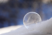 1st Mar 2019 - Frozen bubble!