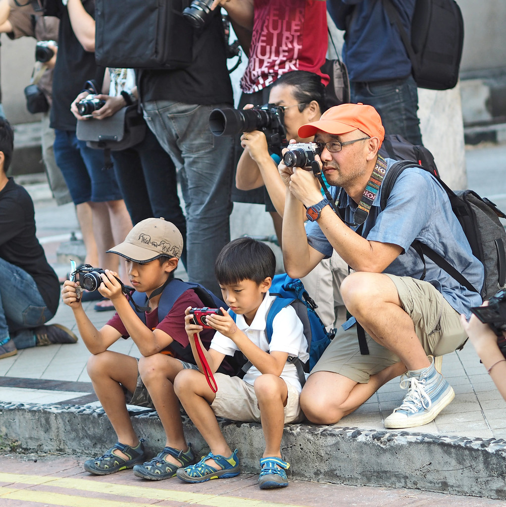 Two Young Photographers by ianjb21