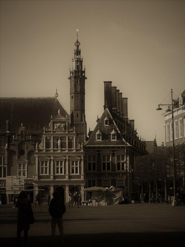 Grote Markt Haarlem by jaycrow