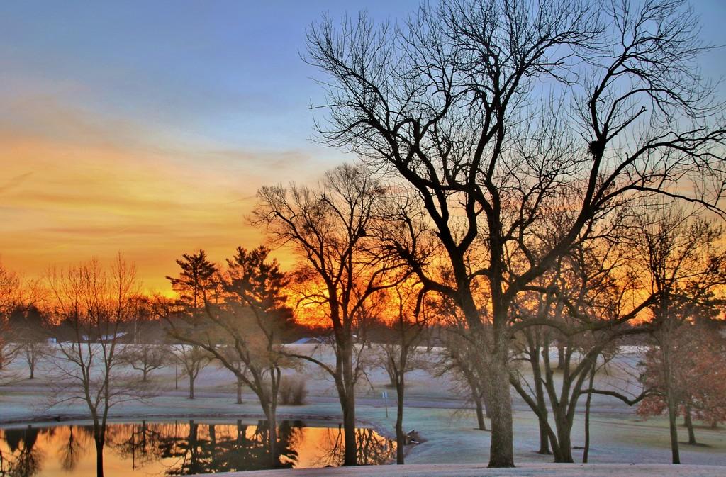 Cold Sunrise by lynnz