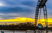 5th Mar 2019 - Sunrise behind the bridge