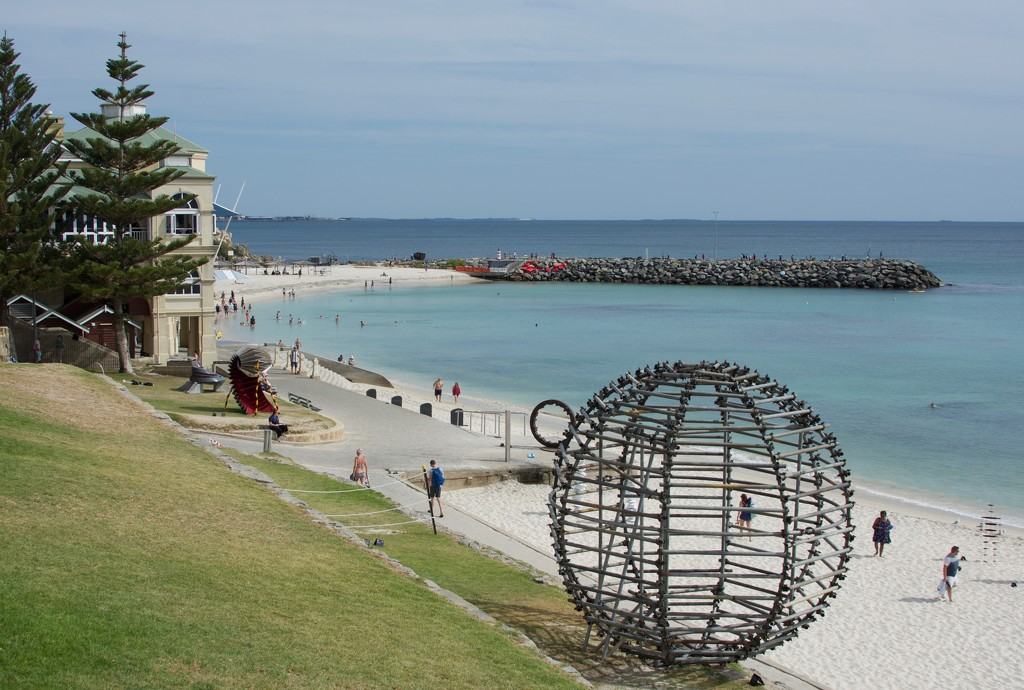 Sculptures By The Sea, Cottesloe Beach_DSC7006 by merrelyn