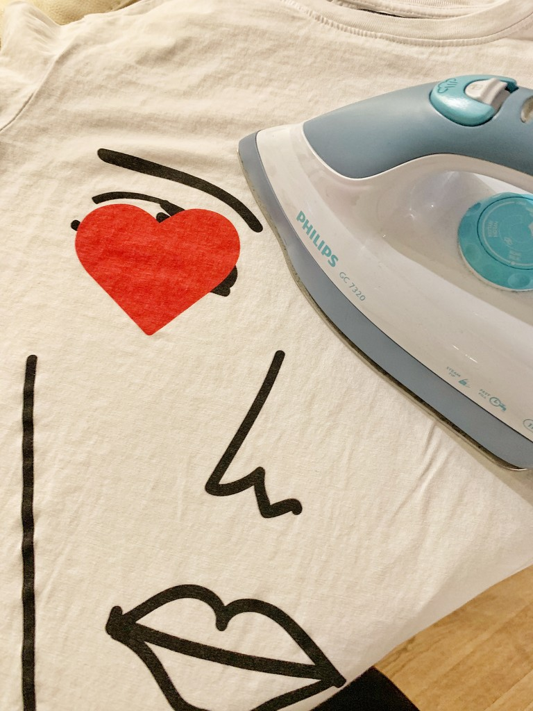 Ironing a heart.  by cocobella