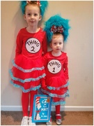 8th Mar 2019 - Grace and Sophia dressed up for World Book Day
