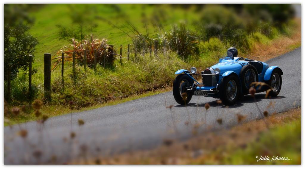 Blue Bugatti ... Boy's and their Toy's ... by julzmaioro