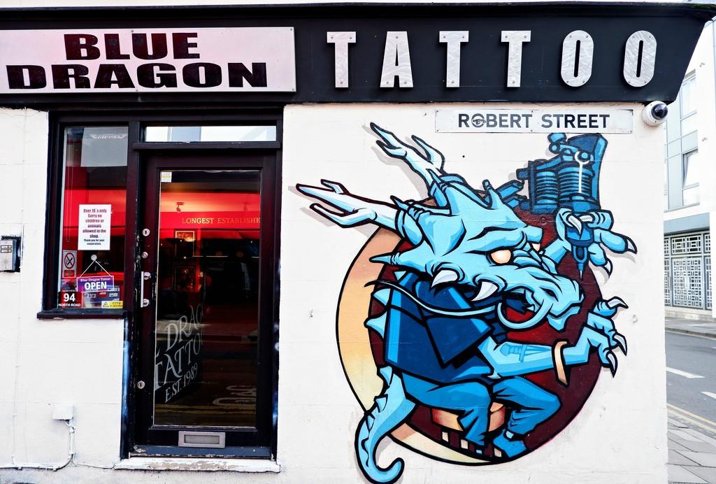Blue Dragon by 4rky