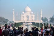 12th Mar 2019 - Taj Mahal: crowds