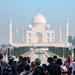 Taj Mahal: crowds