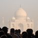 Taj Mahal: our first view