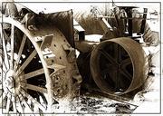 12th Mar 2019 - Rusty Tractor Wheels