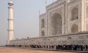 13th Mar 2019 - Taj Mahal: the queue