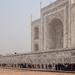 Taj Mahal: the queue