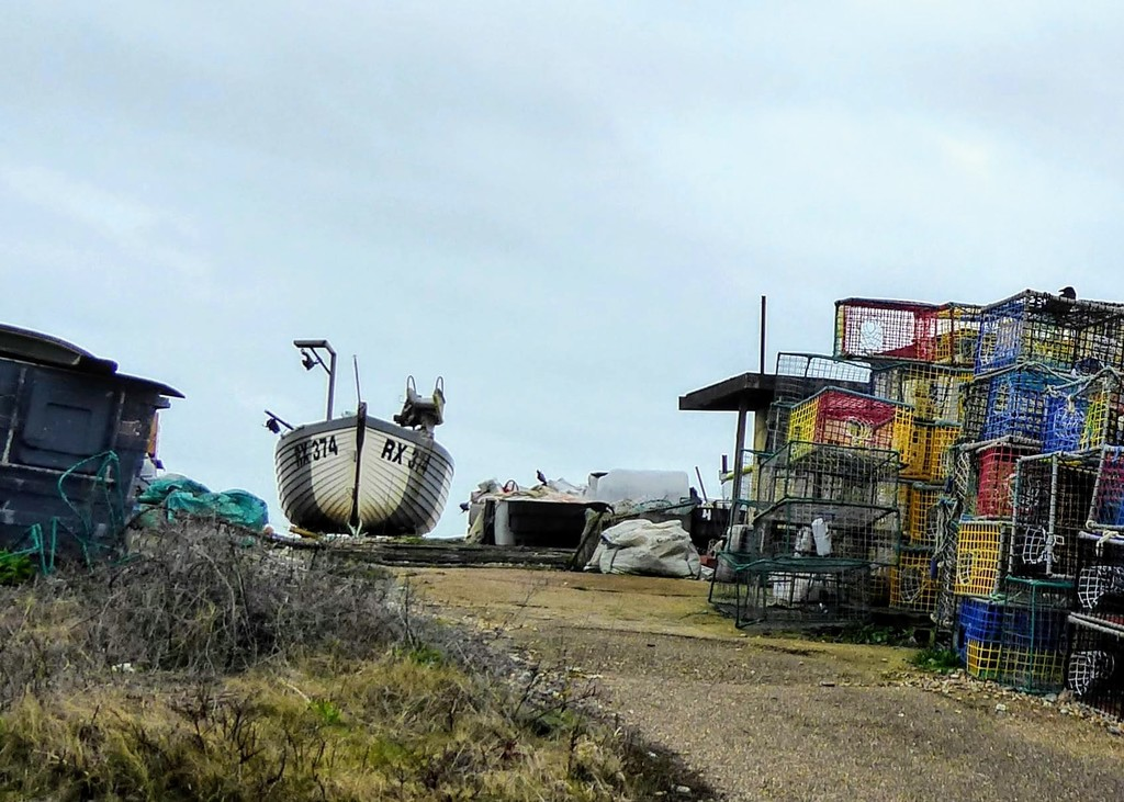 Down at the Fisherman's yard by 4rky