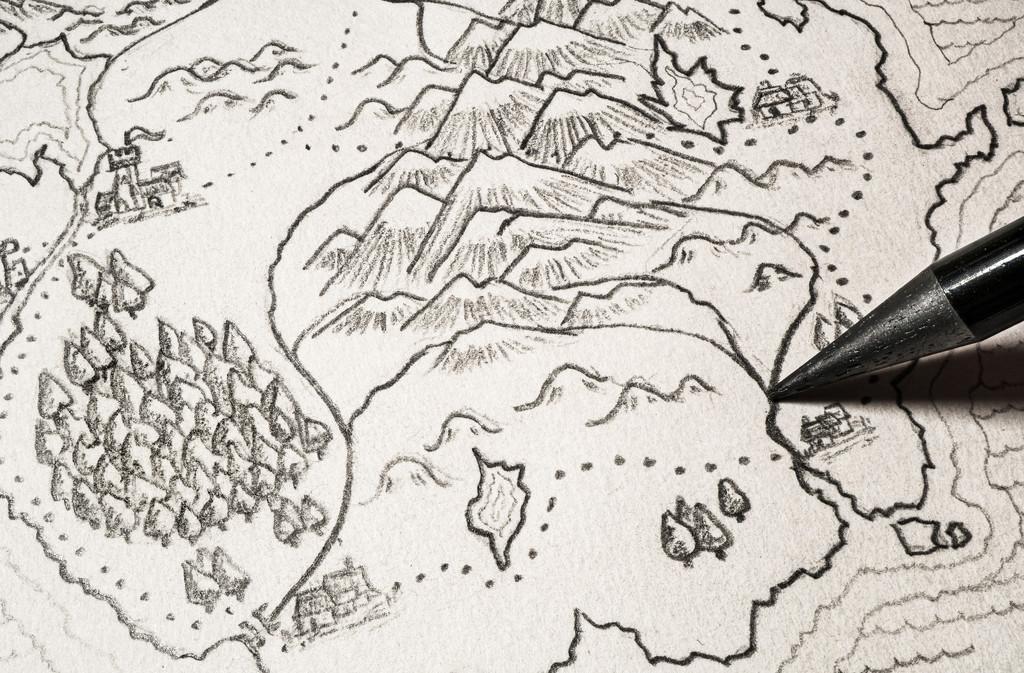 Fantasy Map by humphreyhippo