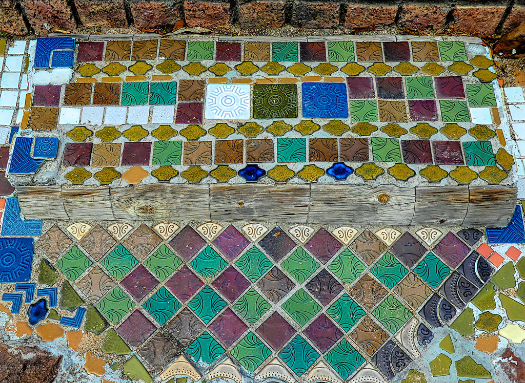 Tiled steps by ludwigsdiana
