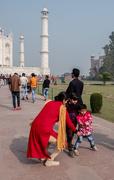 14th Mar 2019 - Taj Mahal: I don't want my photo taken!
