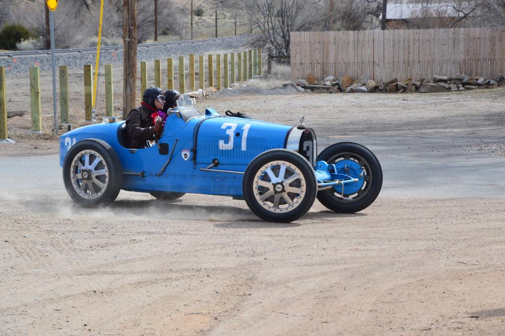 Bugatti From Mid 1920's In Cerrillos, N.M. by bigdad
