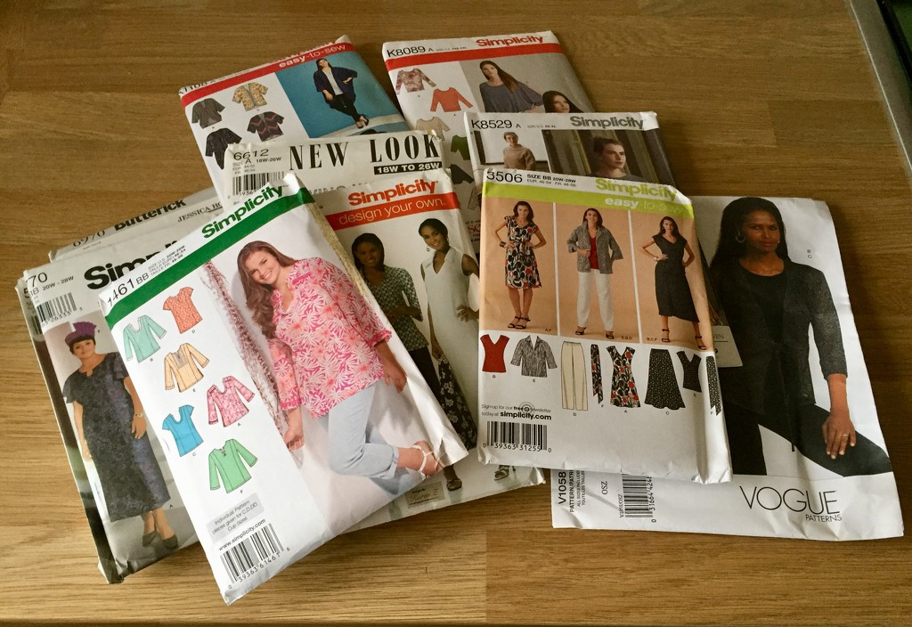 Sewing Patterns by gillian1912