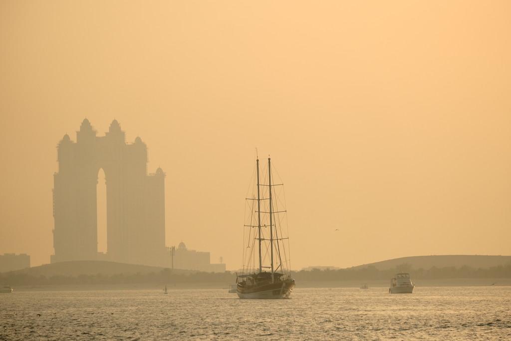 Sunset sail by stefanotrezzi