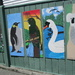 Wall art near a  school   Wellington NZ