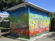 16th Feb 2019 - Wall art on the school toilets.  Pretty good I thought!!