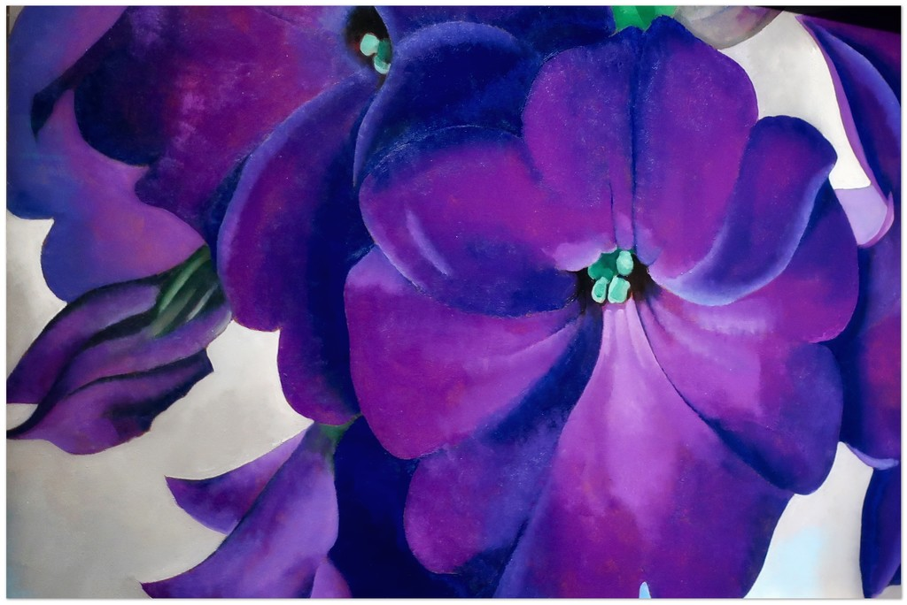 """Georgia Totto O'Keeffe's """"Pansies 1924"""" by louannwarren"""
