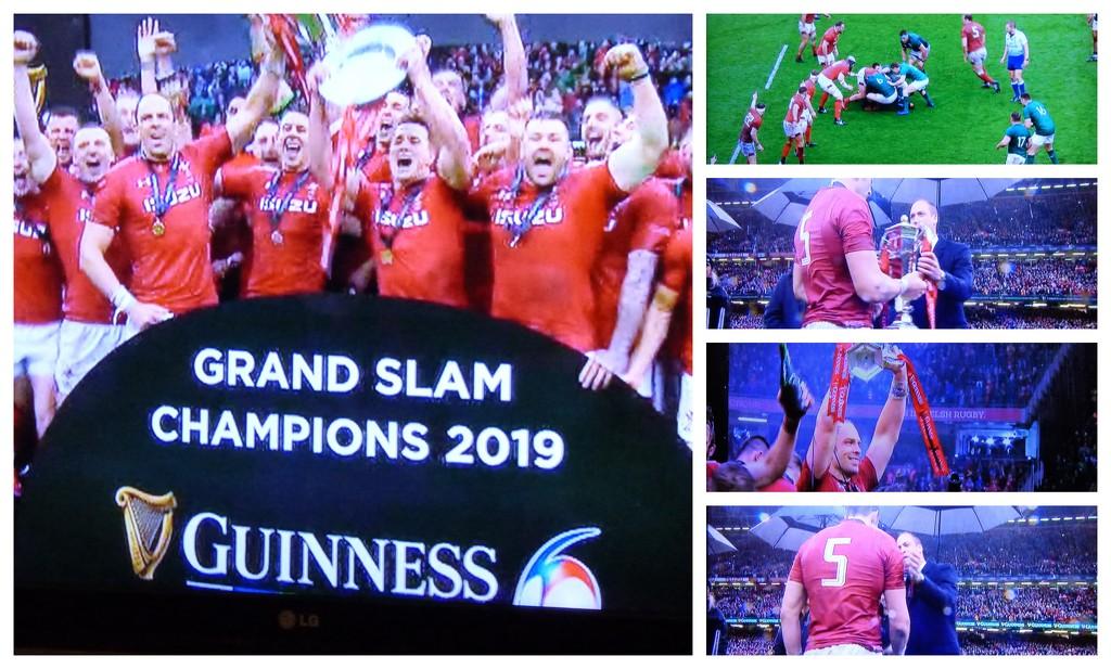 Wales -Grand slam Champions 2019 by beryl