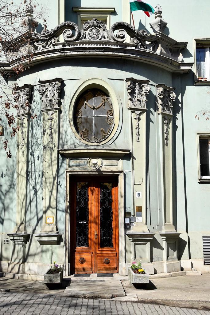 Ornate entrance by kork