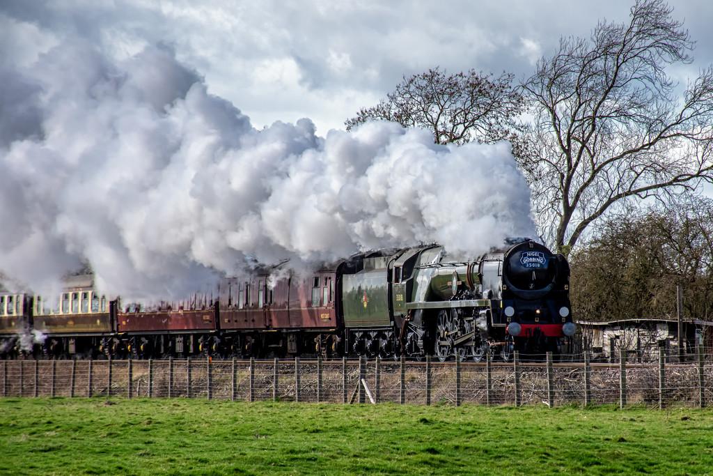 35018 British India Line Locomotive by rjb71