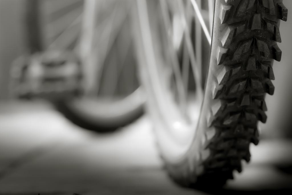 bike in shades of grey... by northy
