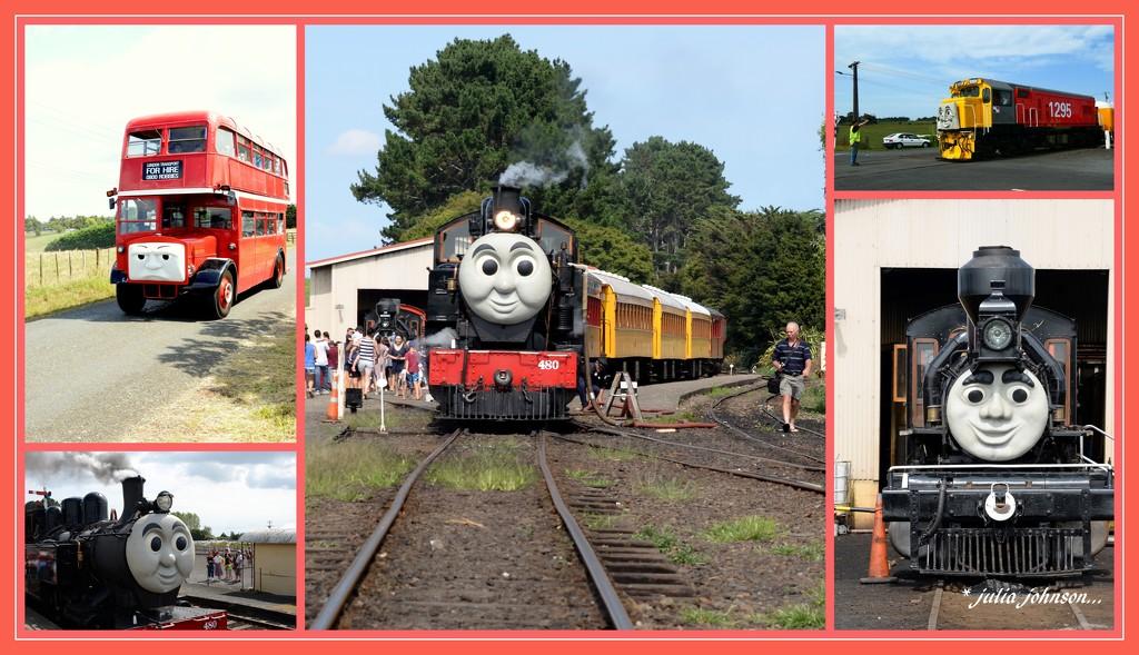 Thomas and Friends.. by julzmaioro