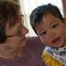 Gran and grandson...