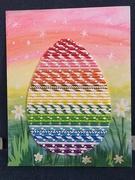 16th Mar 2019 - Rainbow egg
