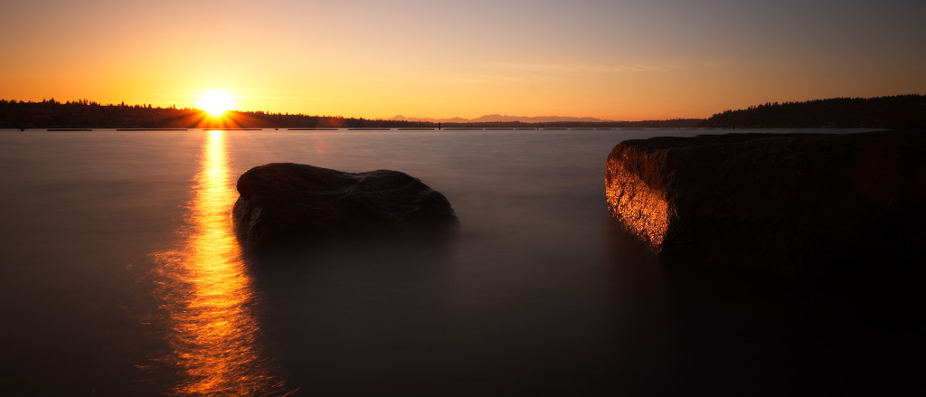 Sunset with the new lens by teriyakih