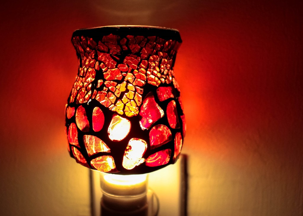 Red nightlight by mittens